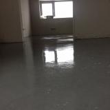 Realizace lité betonové směsi na podlahové topení v rodinném domě v Třinci